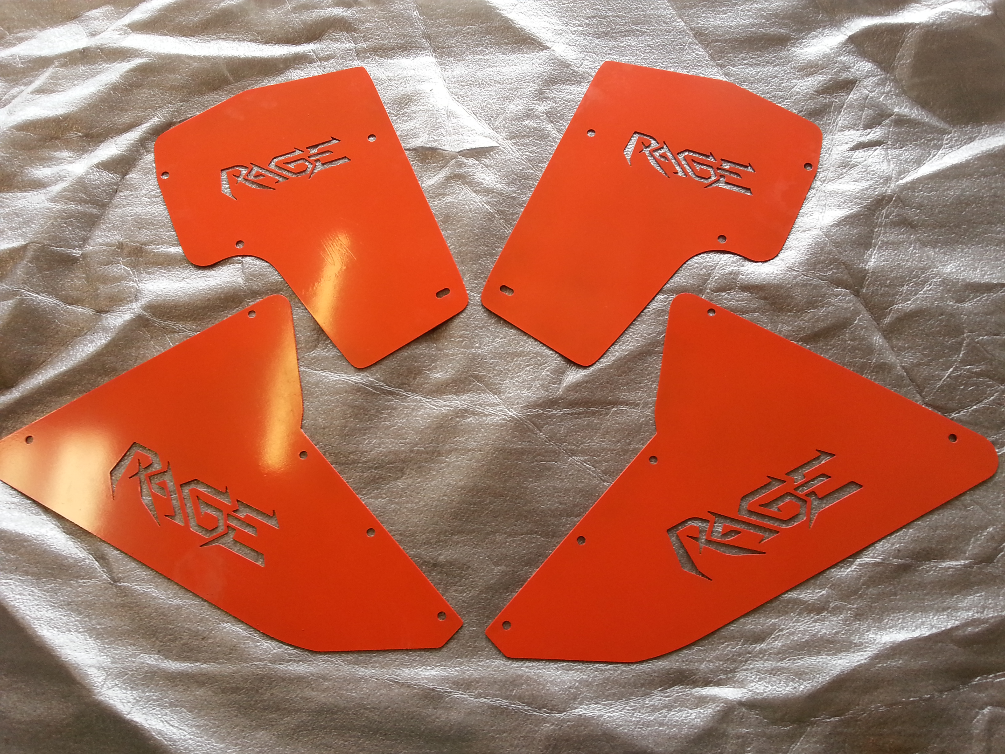 Rage Fab Inner Fender Liner Inserts for Can AM Maverick