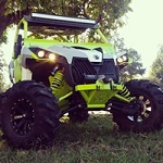 Rage Fab Can-Am Maverick Low Profile Bumper
