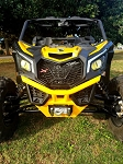 Rage Fab X3 Front Bumper,  Gusset kit Combo, bulkhead and winch mount