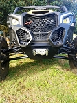 X3 Stealth Bumper with Winch Mount