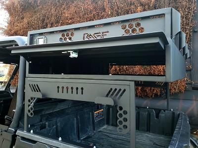 Rage Fab Cargo Box and Rack