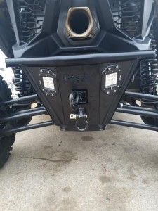 X3 Rear Bumper and Hitch Receiver